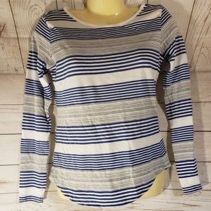 2 for 15 GAP Striped Long Sleeve Top